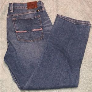 Lucky Brand cropped jeans sz 12/31